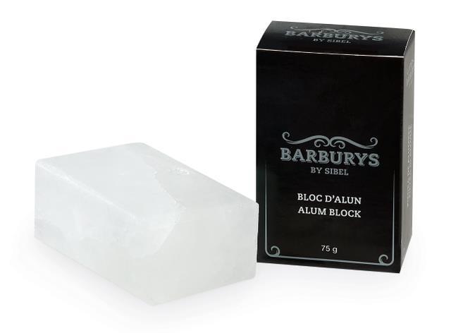 Minerální sůl Sibel Barburys Bloc D'Alun Alunit - 75 g (0001740)