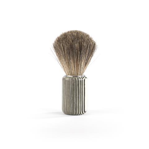 Štětka na holení Sibel Grey Bamboo - bambusové dřevo (0002313) + DÁREK ZDARMA