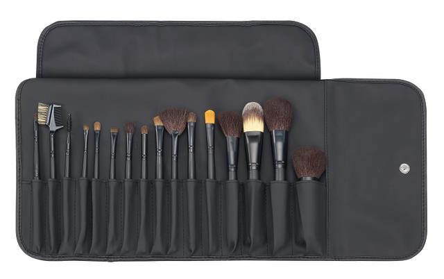 Kapsička se štětci na make-up, Sibel, 16 ks (0010085) + DÁREK ZDARMA