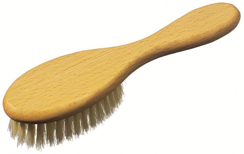 Dětský dřevěný kartáč na vlasy Keller 004 22 11 - 39 x 150 mm