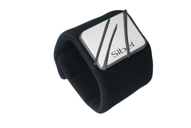 Magnetický náramek Sibel Quickystick - černý (0090055)