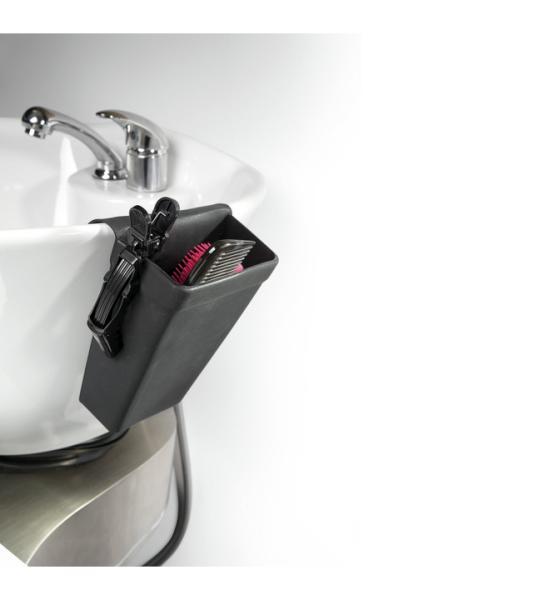 Kadeřnické silikonové pouzdro Sibel - černé (0099000) + DÁREK ZDARMA
