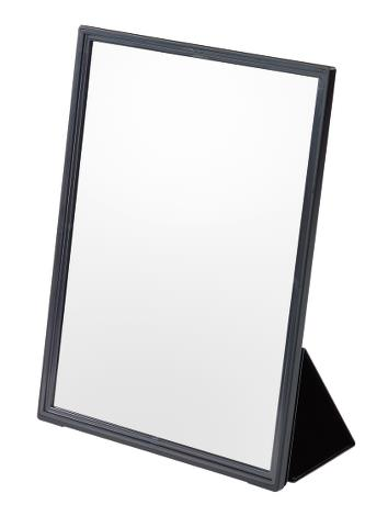 Skládací kadeřnické zrcadlo Sibel i-mirror černé - 23,3 x 31,8 cm (0130740) + DÁREK ZDARMA