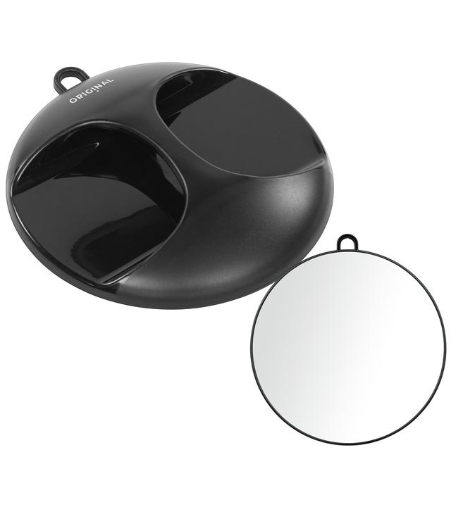 Kruhové zrcadlo Original Best Buy Luna 28 cm - černé (0130841-02)