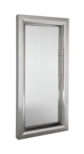 Kadeřnická obsluha/ zrcadlo Sibel Miami - stříbrná (0160000) + DÁREK ZDARMA