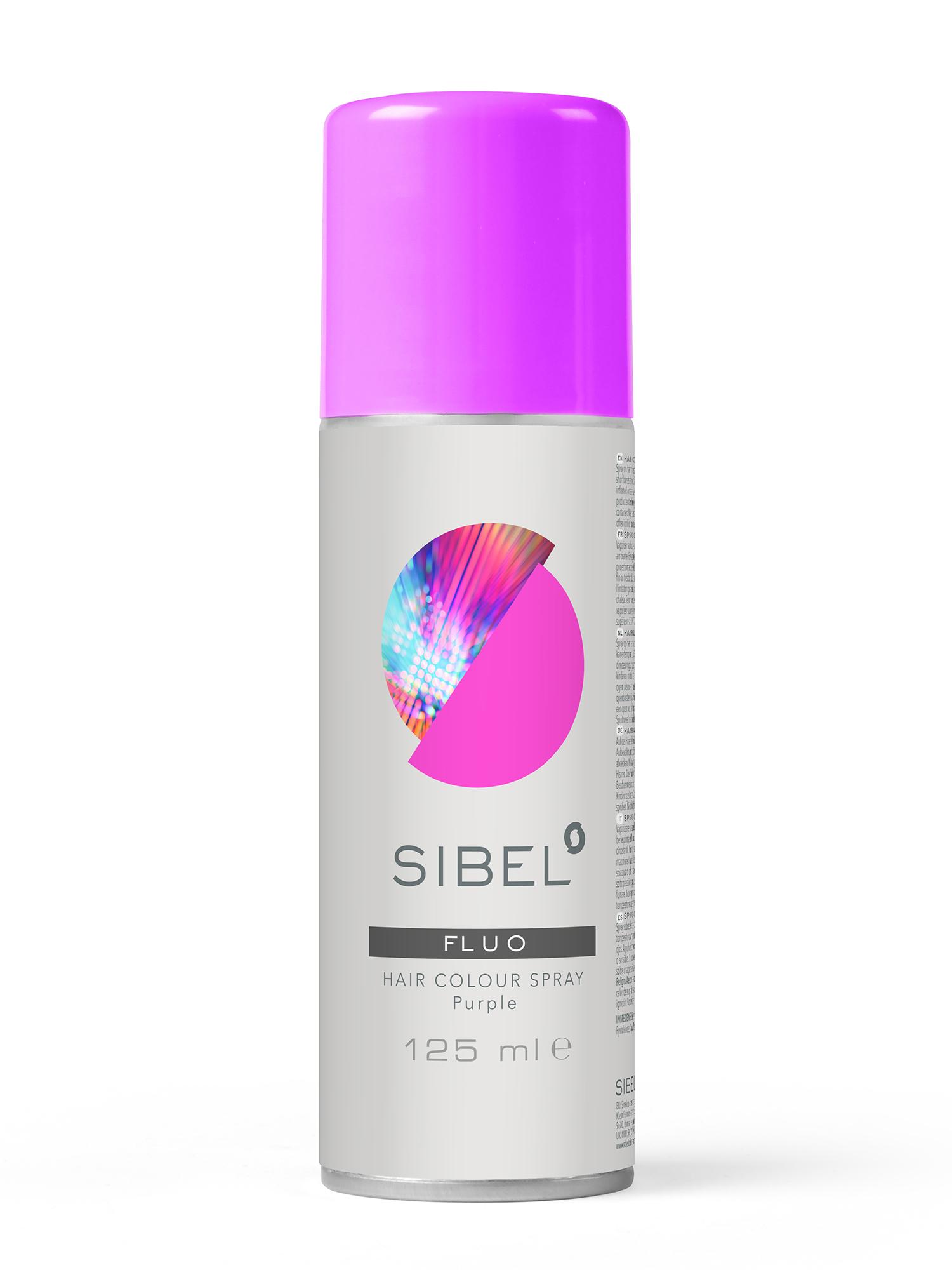 Barevný sprej na vlasy Sibel Hair Colour - fialová (0230000-21)