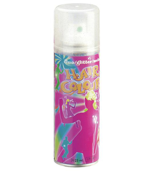 Barevný sprej na vlasy Sibel Hair Colour - stříbrné třpytky (024000032)