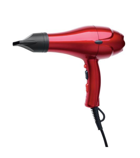 Fén na vlasy Original Best Buy Dreox 2000 W - červený (0440107) + DÁREK ZDARMA