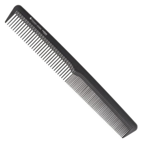 Hairway Karbonový hřeben na vlasy 05086 - 18 cm