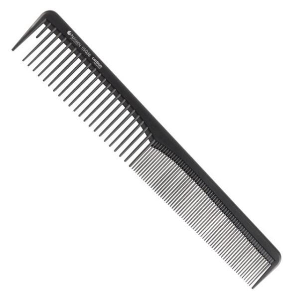 Hairway Karbonový hřeben na vlasy 05088 - 18 cm