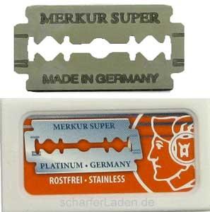 Holící žiletky MERKUR Solingen Super Platinum 910 000 - 10 ks - DOVO Solingen