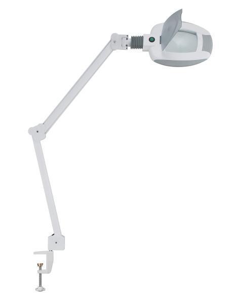 Zvětšovací lupa s LED lampou na stůl Weelko Ampli - 5 dioptrií (1005-T) + DÁREK ZDARMA