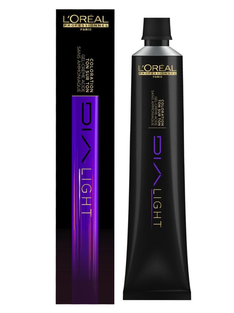 Loréal Dialight Přeliv na vlasy 50ml - odstín 7.18 popelavý mokka