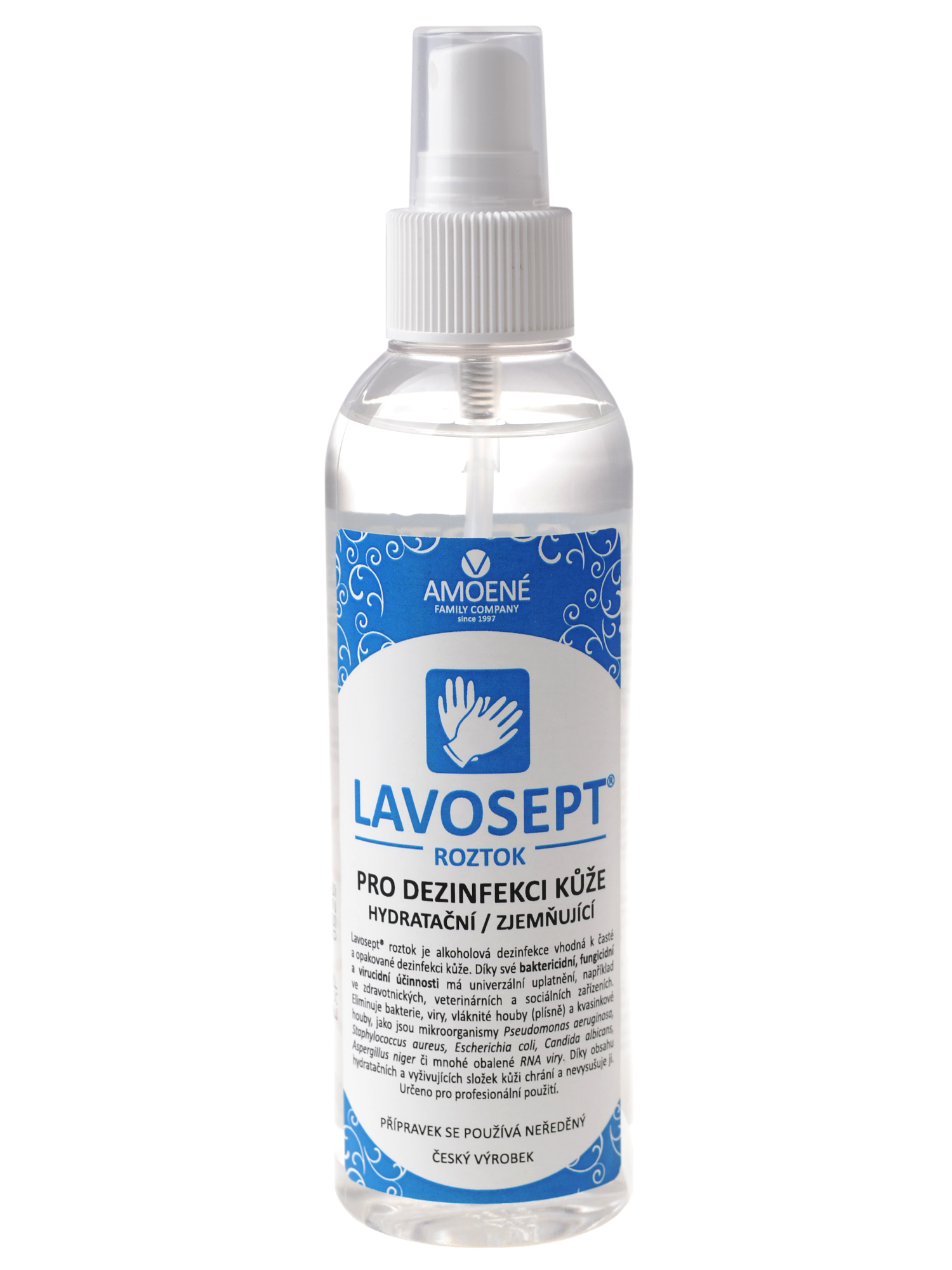 Dezinfekce kůže ve spreji Amoené Lavosept - 200 ml (013102M200) + DÁREK ZDARMA