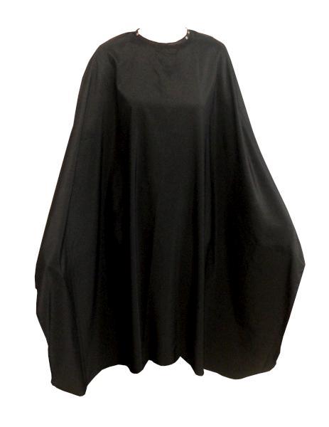 Pláštěnka na barvení Fox Collection Snap on Silky Line - černá (1509420, 7512028) + DÁREK ZDARMA