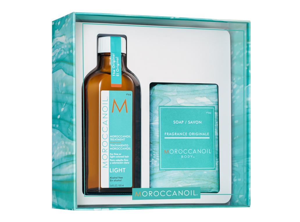 Dárková sada pro vlasy a tělo Moroccanoil Light (MOHALT19) + DÁREK ZDARMA