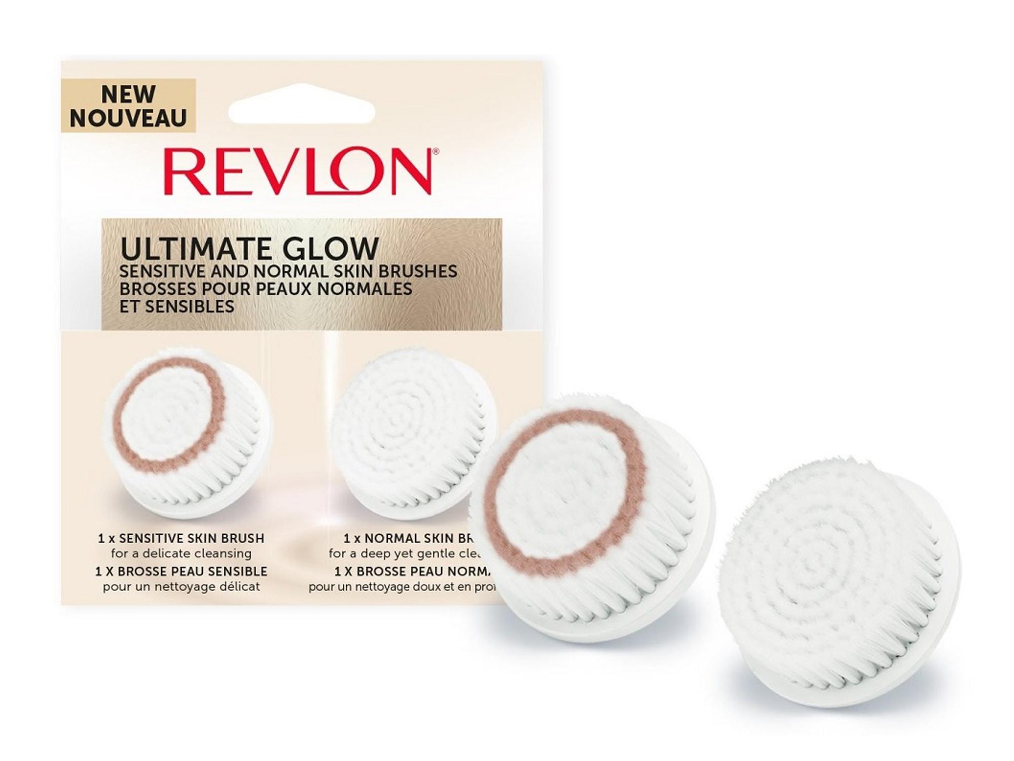 Náhradní hlavice pro čistící kartáček Revlon Ultimate Glow Sonic (RVSP3538CB) + DÁREK ZDARMA