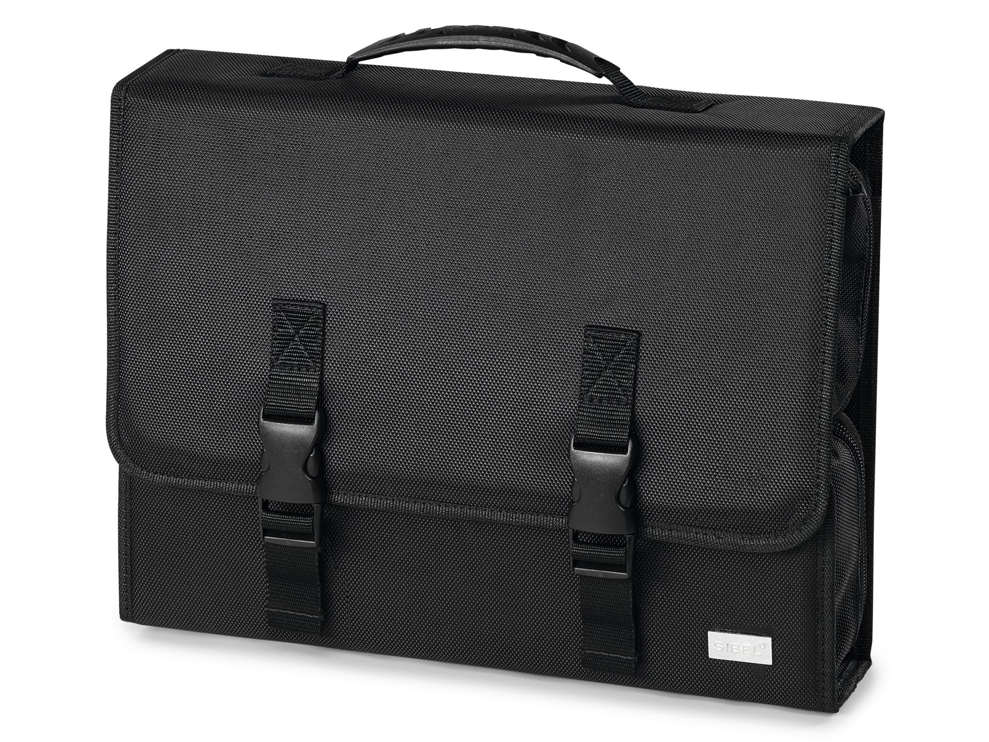 Kosmetická taška Sibel X Toolcase se zrcadlem - černá (0130760) + DÁREK ZDARMA