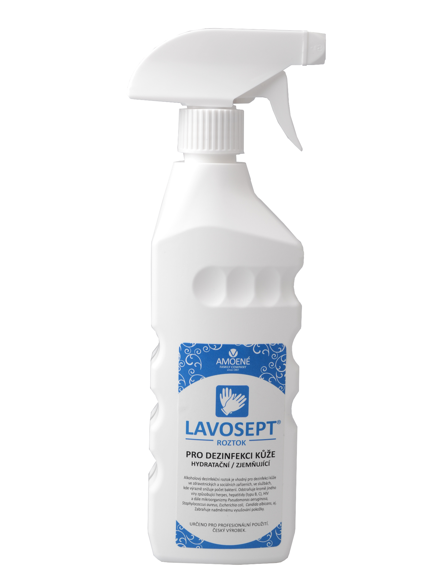 Dezinfekce kůže ve spreji Amoené Lavosept - 500 ml (013102M500P) + DÁREK ZDARMA