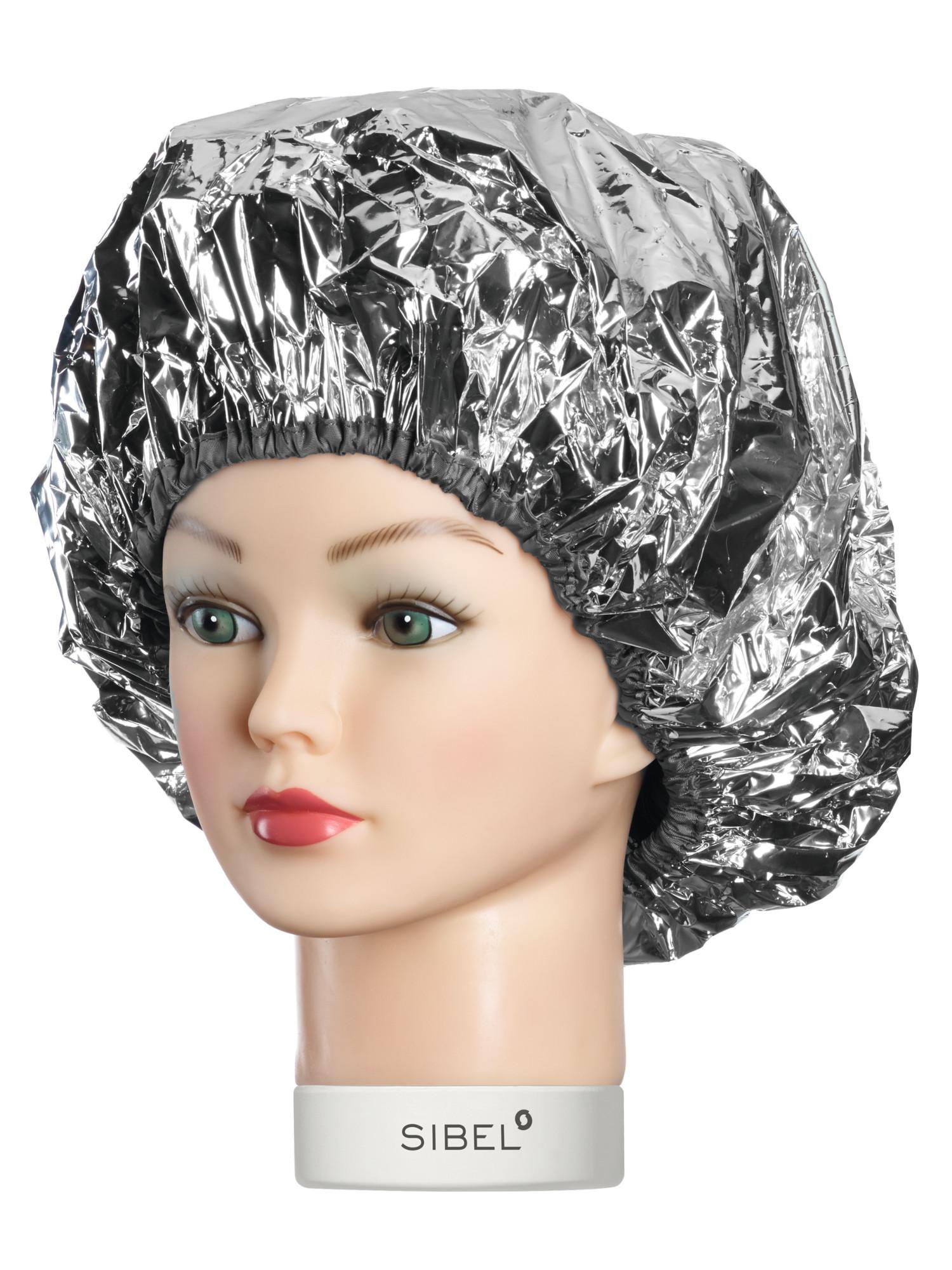 Jednorázová samozahřívací čepice - stříbrná (4410400) - Sibel