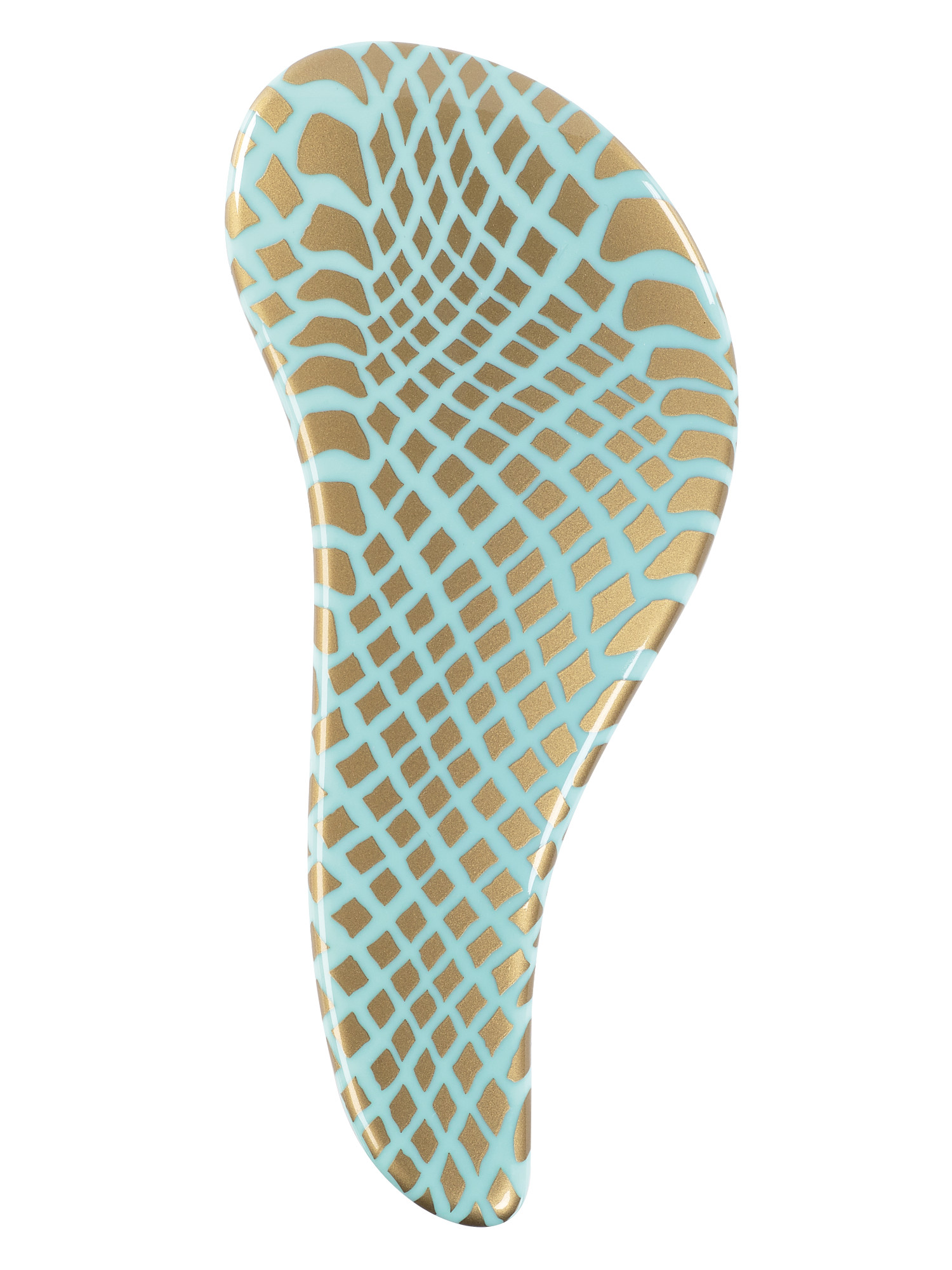 Kartáč na vlasy Sibel D-méli-mélo Had - růžová/zelená se zlatým potiskem (6600626-02) + DÁREK ZDARMA