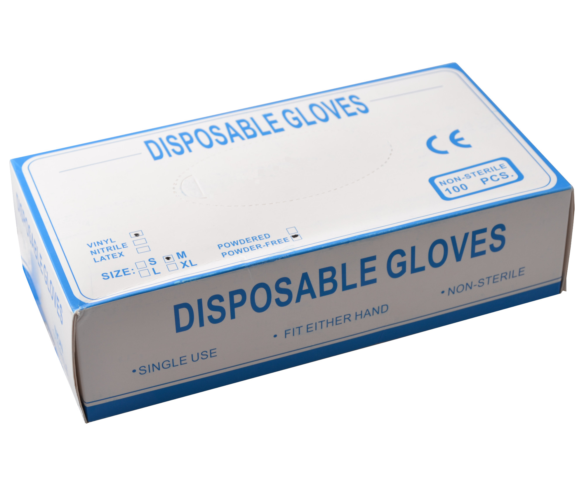 Jednorázové vinylové rukavice Batist 100 ks - M (1323806305) + DÁREK ZDARMA