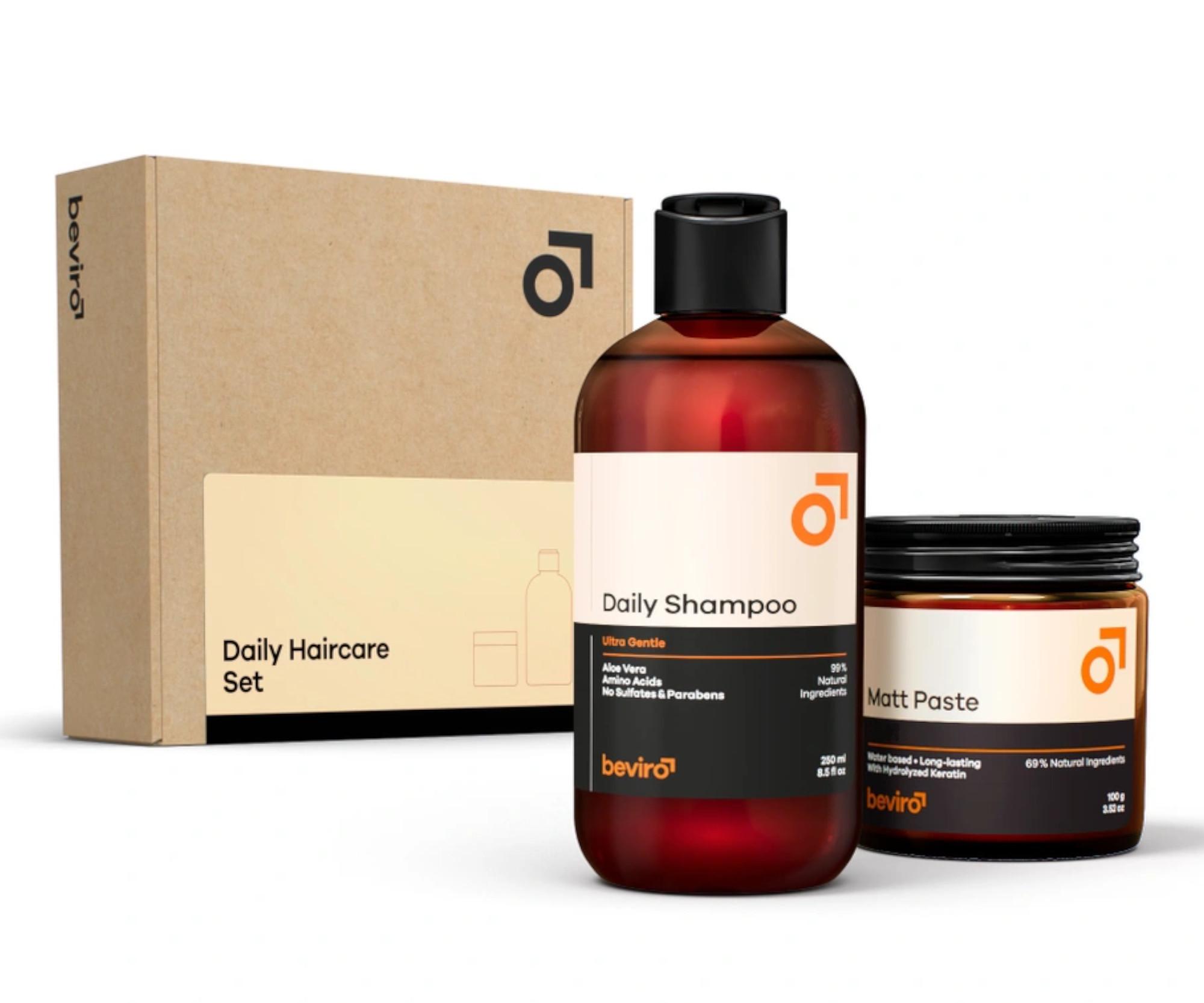 Dárková sada pro muže Beviro Daily Haircare Set (BV002) + DÁREK ZDARMA