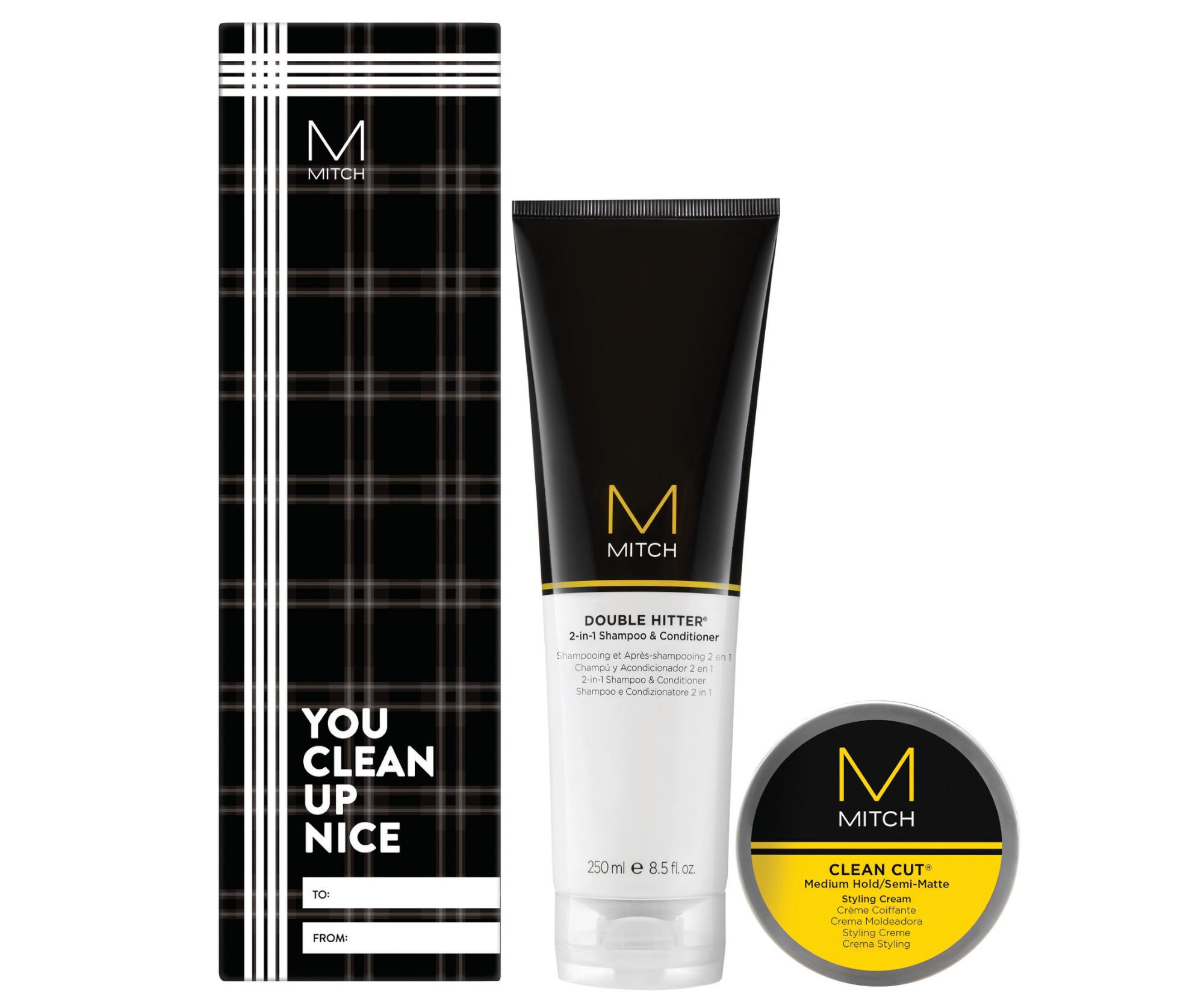 Dárková sada pro muže Paul Mitchell Clean Style Duo (733185) + DÁREK ZDARMA