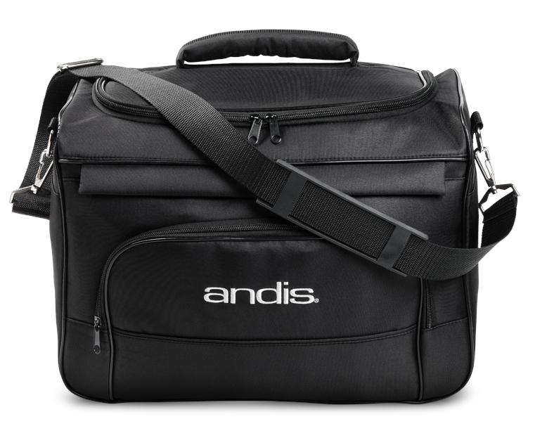 Pevná textilní taška na strojky a příslušenství Andis - černá (66555) + DÁREK ZDARMA