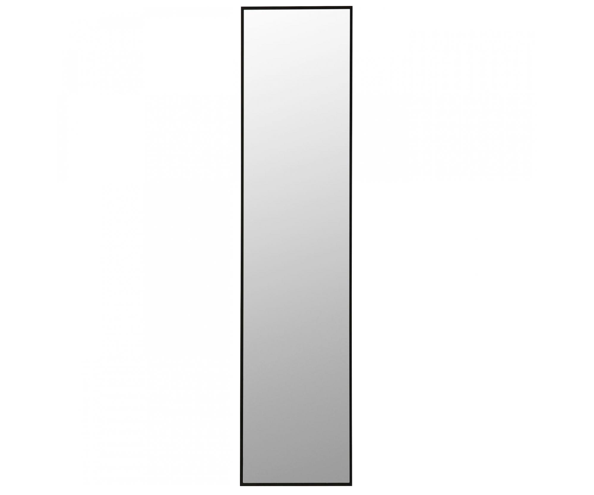 Kadeřnické zrcadlo Kare Bella - černé, 180 x 30 cm (83451) + DÁREK ZDARMA