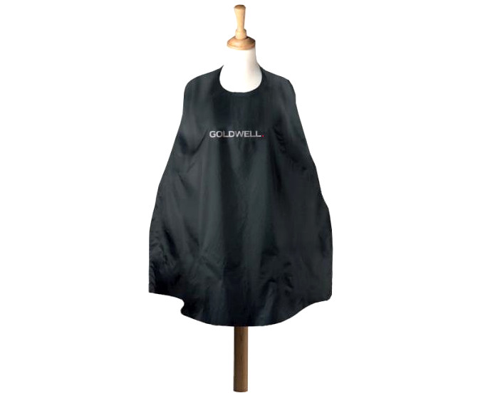Kadeřnická pláštěnka na stříhání Goldwell 130 x 100 cm - černá (902422) + DÁREK ZDARMA