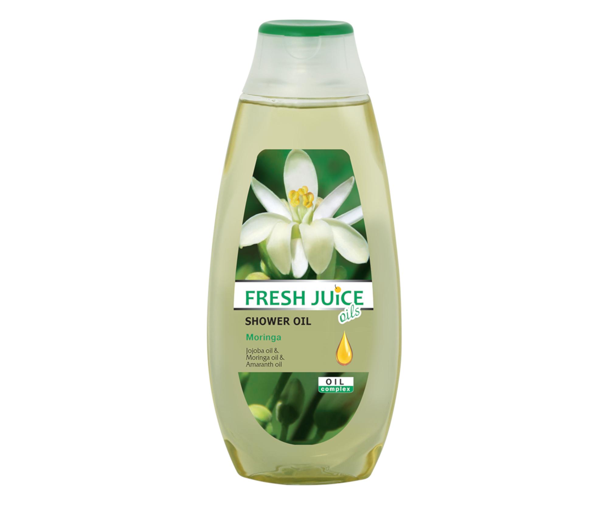 Sprchový olej Fresh Juice - Moringa 400 ml