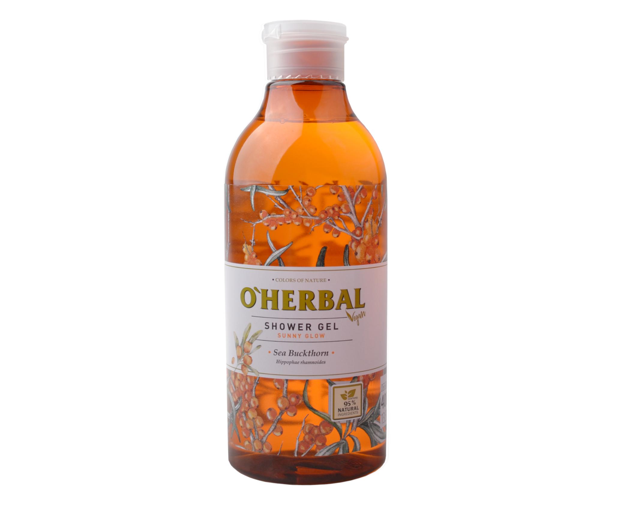 Sprchový gel O'Herbal Sunny glow - Rakytník 400 ml - O`Herbal + DÁREK ZDARMA