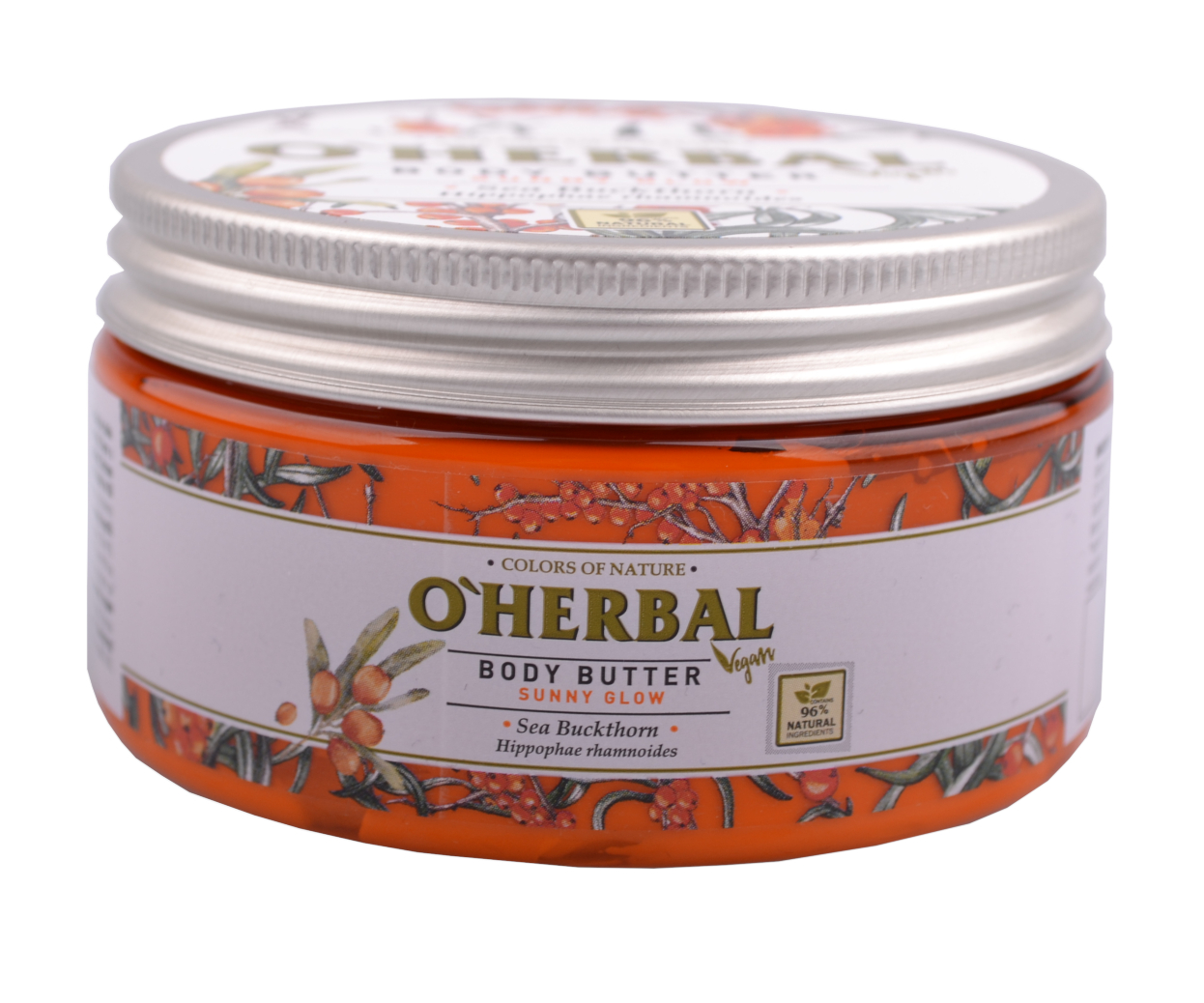 Tělové máslo O'Herbal Sunny Glow - Rakytník 200 ml - O`Herbal + DÁREK ZDARMA