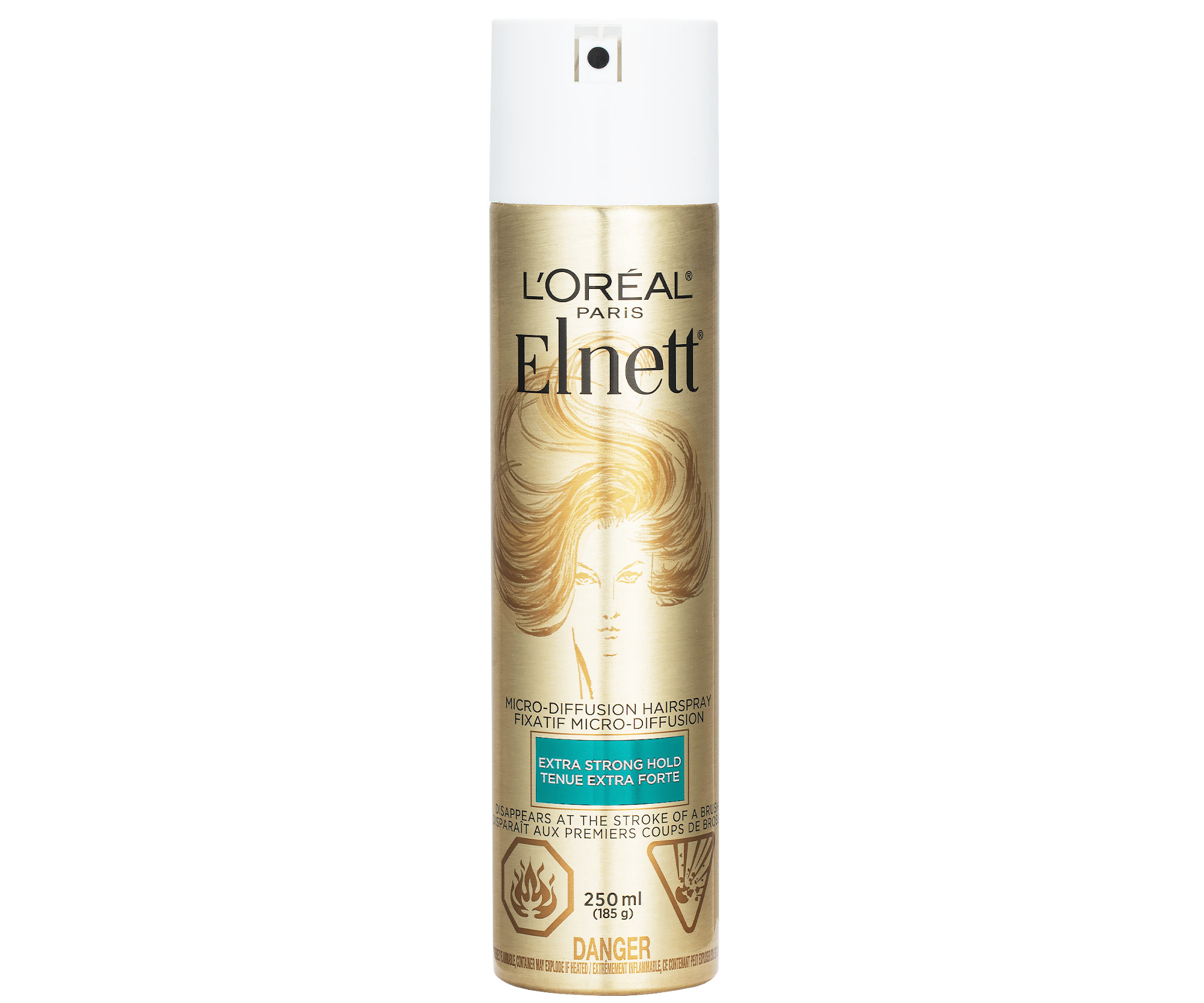 Lak na vlasy bez parfumace Loréal Paris Elnett Satin Extra Strong Hold - 250 ml (A7224313) - L'Oréal Paris + DÁREK ZDARMA