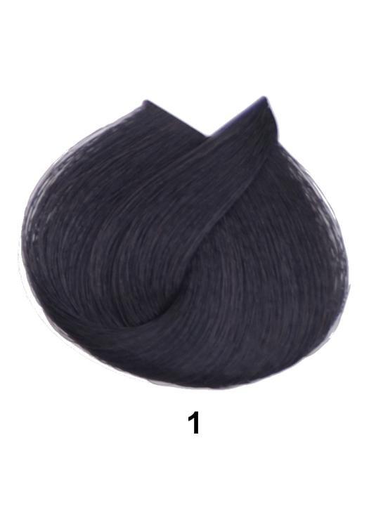 Barva na vlasy Loréal Majirel 50 ml - odstín 1 černá + DÁREK ZDARMA