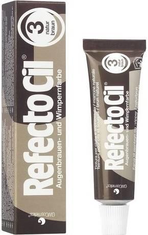 RefectoCil Barva na obočí a řasy 15 ml - č.3, hnědá (K/081/015/B)
