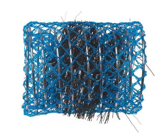 Spirálové natáčky na vlasy Sibel, modré 6 ks - 50 mm (2165039)