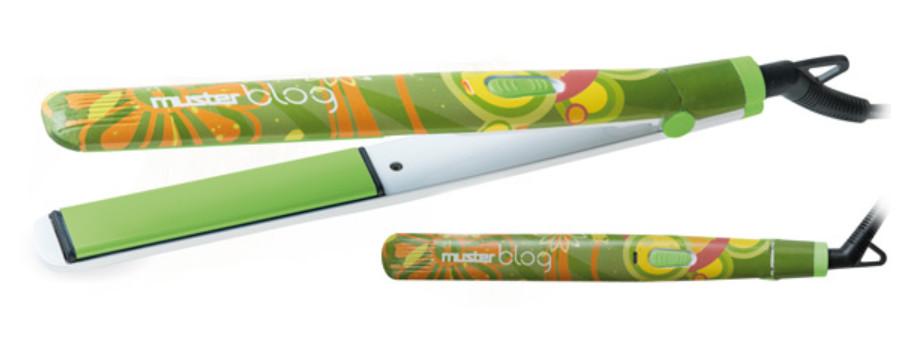 Žehlička na vlasy Muster BLOG - zelená (2434491) + DÁREK ZDARMA