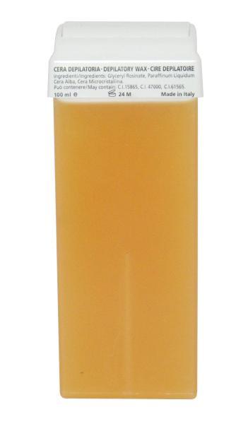 Epilační přírodní vosk roll-on Hairway, žlutý - 100 ml (25101)