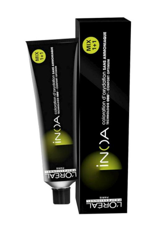 Loréal Inoa 2 barva na vlasy 60 g - odstín 5,4 hnědá světlá měděná