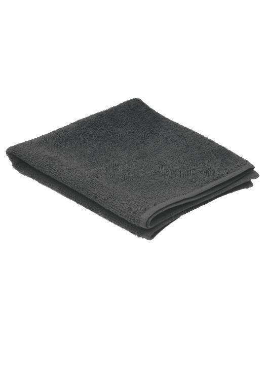 Ručník froté 80 x 50 cm, 100% bavlna, Sibel - černý (3500302)