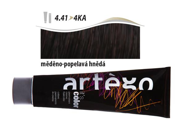 Artégo Krémová barva IT'S Color 150 ml - 4.41, měděno-popelavá hnědá (4.41>4KA)