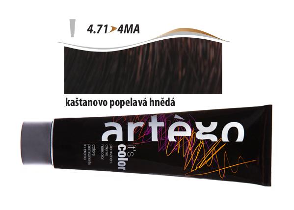 Artégo Krémová barva IT'S Color 150 ml - 4.71, kaštanovo popelavá hnědá (4.71>4MA)
