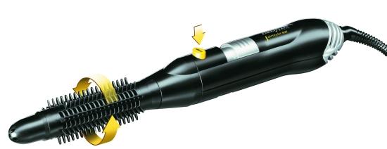 Kulmofén na vlasy se 2 nástavci Babyliss Airstyle - 300 W (2656E) + DÁREK ZDARMA