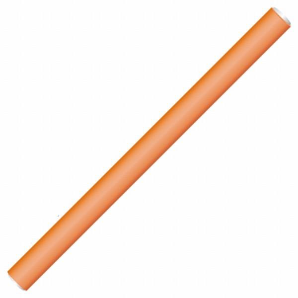 Ohebné natáčky Hairway pr.17 mm, 25 cm , 12 ks - oranžové (41171)