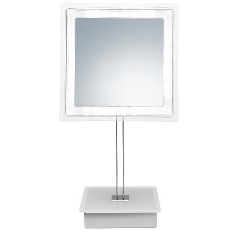 Kosmetické zrcátko s osvětlením Sibel Riga - 5x zvětšovací (4430405) + DÁREK ZDARMA