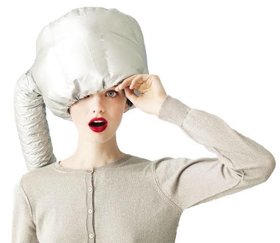 Textilní sušící helma Sibel - stříbrná (5011932) + DÁREK ZDARMA