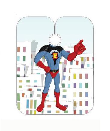 Dětská kadeřnická pláštěnka Sibel - Space Heroes (5091403)