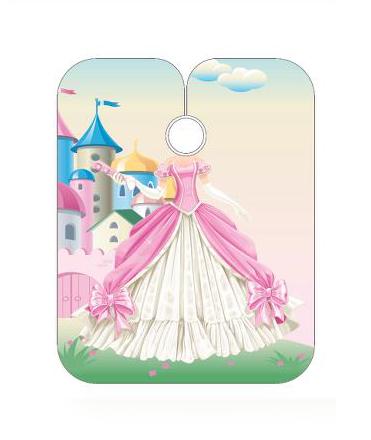 Dětská kadeřnická pláštěnka Sibel - Princess (5091404) + DÁREK ZDARMA